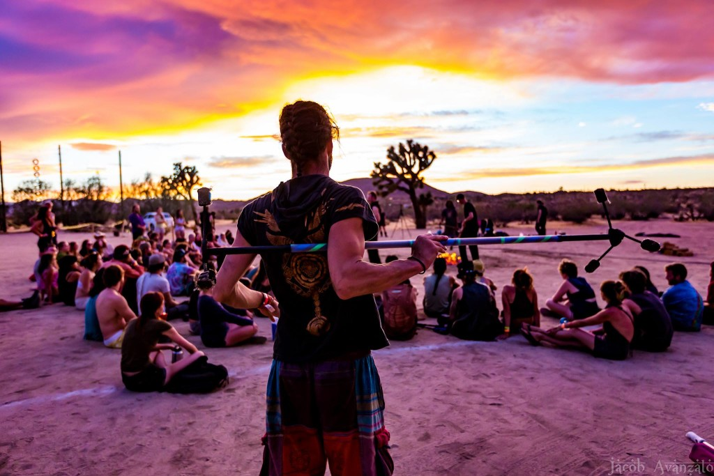 Sunset class in session at Ignight - Photo by Jacob Avanzato